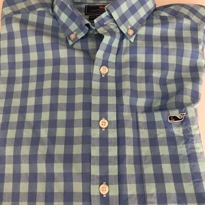 Plaid Vineyard Vines long sleeve button up